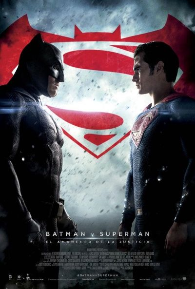 Cartel de Batman v Superman: El amanecer de la justicia (Batman v Superman: Dawn of Justice)