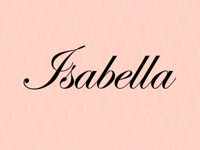 7. Isabella - Slide 7 of 10 - Top 10 names for baby girls in Canada