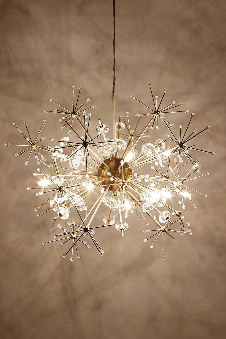 Crazy fun!  Dandelion Orbit Chandelier - anthropologie.com