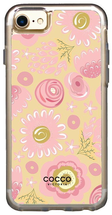 Pink Blooms Vogue Case - iPhone 7/6S/6 - coccovictoria.com