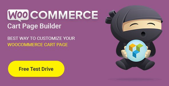 Cart Page Builder for Woocommerce - https://codeholder.net/item/wordpress/cart-page-builder-woocommerce