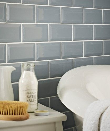 Chartwell Blue Tiles For Bathroom From Topps Tiles