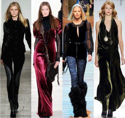Модный тренд наступающего лета - платья из бархата - Женский журнал GLIANEC