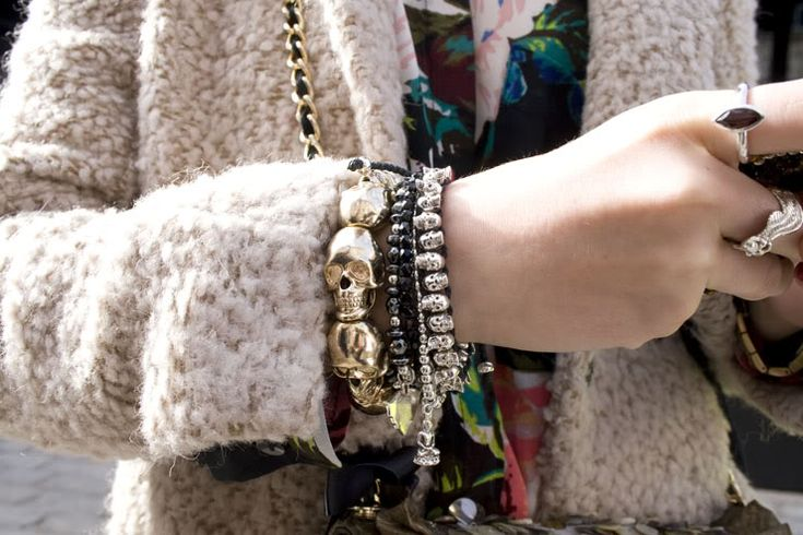 in detail LFWAW12 4020 Skull jewellery