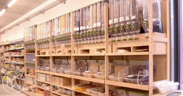 Réalisations agencement magasins bois, agencement magasins bio - Mobil Wood