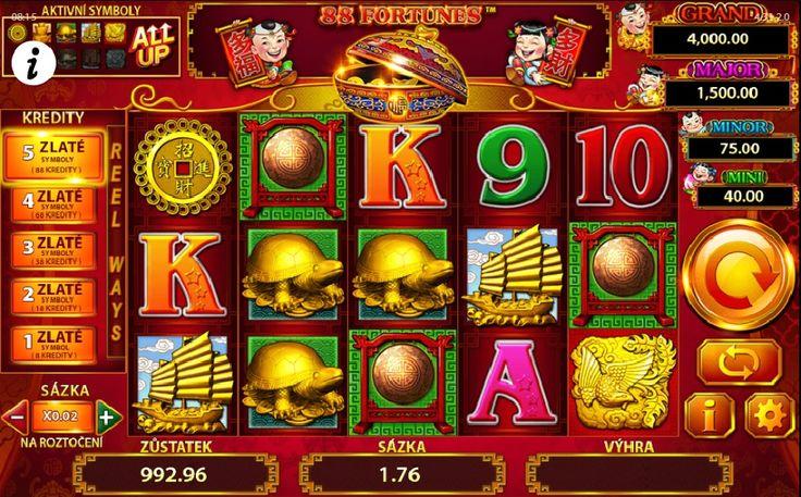 Výherný automat 88 Fortunes patrí medzi najvýkonnejšie hry, veľká šanca pre všetkých hráčov získať čo najviac. #88Fortunes #automaty #online