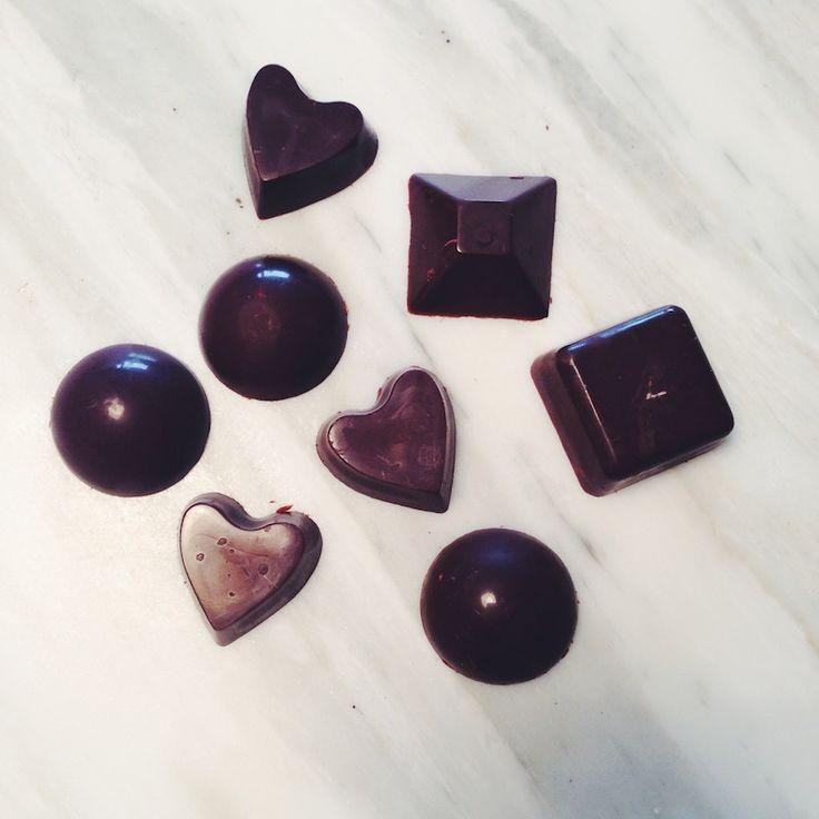 Grunnoppskrift på rå sjokolade