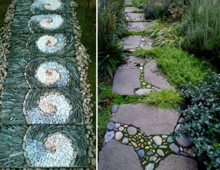 Elegant Gartenweg anlegen u gestalten Ideen f r Garten Architektur