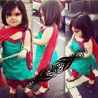 Salwar suit for baby girl