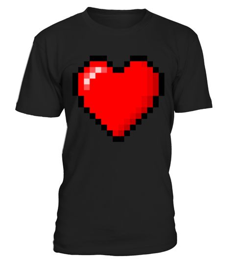 """# 8 bit heart - Women's Organic T-Shirt .  1279 sold towards goal of 1000Buy yours now before it is too late!Secured payment via Visa / Mastercard / PayPalHow to place an order:1. Choose the model from the drop-down menu2. Click on """"Buy it now""""3. Choose the size and the quantity4. Add your delivery address and bank details5. And that's it!"""