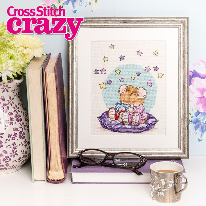Country Companions Twice as Mice Cross Stitch Crazy Issue 192 August 2014 Saved