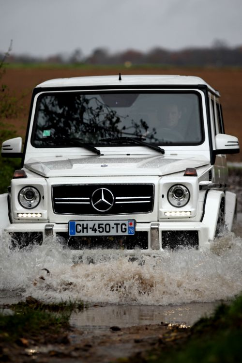 Just Because It Can....Mercedes G63 AMG
