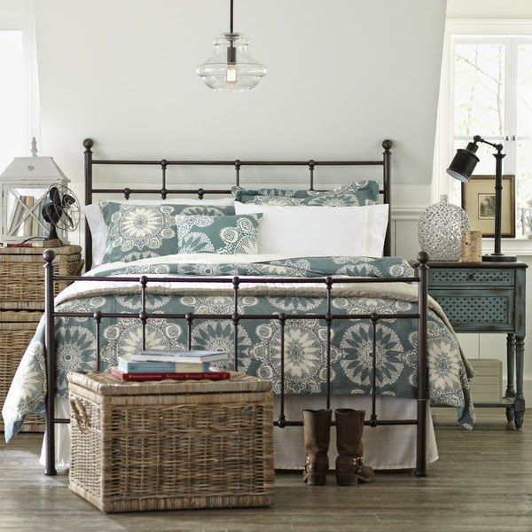 Birch Lane Regis Metal Bed Traditionally Styled With Elegant Ball Finials And Grill Castings The Antiqued Bronze Exudes Elegance