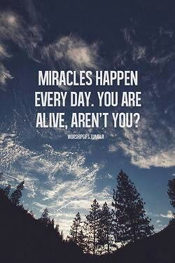 This is especially true for my husband today! Thank God for a miracle and his angels!!!