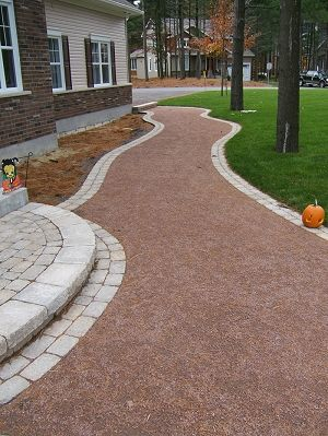 Crushed Stone Walkways Sodding Amp Seeding Natural Stone