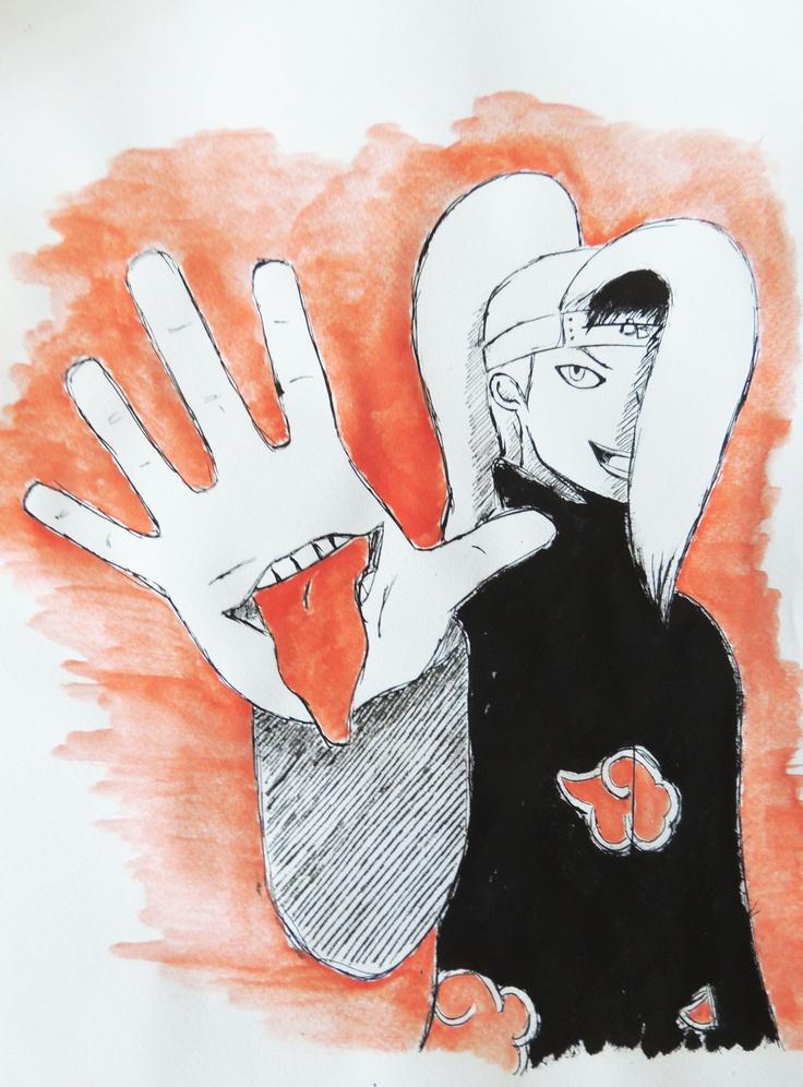 #Deidara from #Naruto #Shippuden