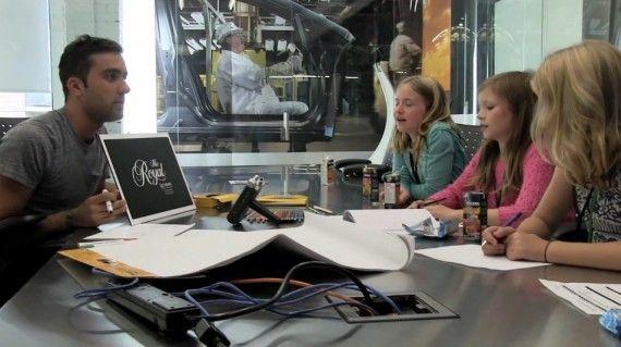 Los niños se hacen publicistas durante un día. #kids #ads #publicidad #marketing