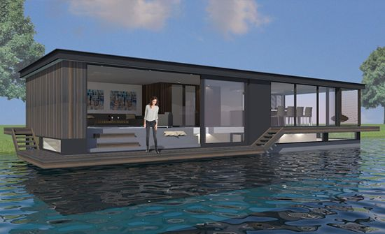 Floating home | houseboat