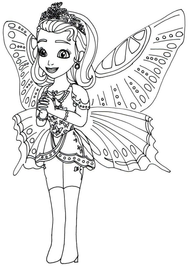 Oona Mermaid Coloring Pages Design