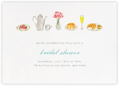 Bridal shower invitations - Paperless Post