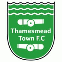 Thamesmead Town FC Logo. Get this logo in Vector format from https://logovectors.net/thamesmead-town-fc/