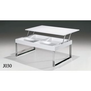 Reaction White Gloss Action Coffee Table By Lexington Modern