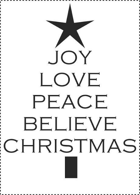 [free Christmas printables]