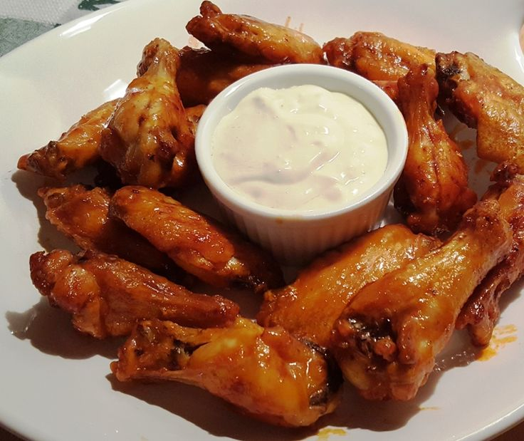 Better Than Hot Wings Café, Air Fryer Buffalo Chicken Wings - This Old Gal