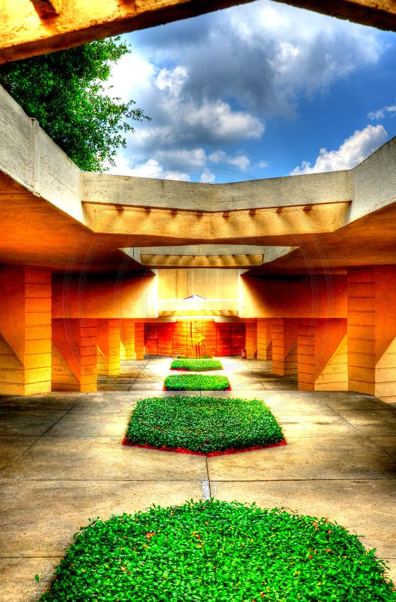 Frank Lloyd Wright at Florida Southern College -Lakeland, Fl