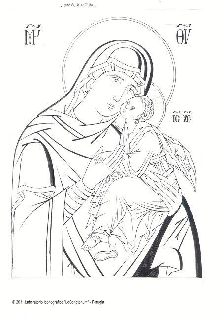 Vergine della Tenerezza veneto-cretese (Studio dell'icona) - Giuliano Melzi - Picasa Web Albums