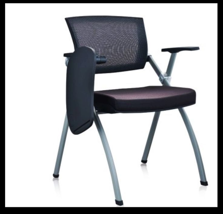 Delightful Office Chair With Writing Pad