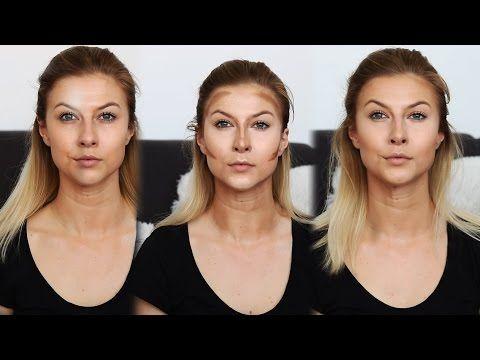 Ako na to? Kontúrovanie tváre | Lenka - YouTube