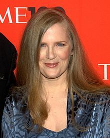 "Suzanne Collins, author of ""The Hunger Games"" trilogy.  The movie set a box office record during its debut weekend with sales of 152.5 million dollars, the biggest ever opening weekend for a non-sequel film."