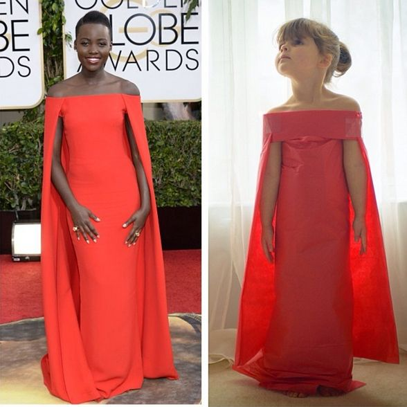 4-Year-Old And Her Mom Recreate Famous Dresses From Just Paper And The Results Are Incredible | Elite Daily