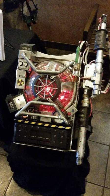 New GHOSTBUSTERS proton pack build.