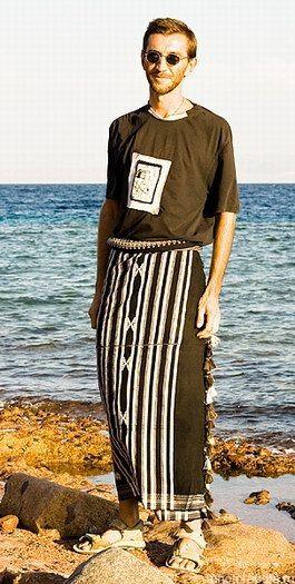 Как носят мужской саронг. | 10 фотографий | ВКонтакте