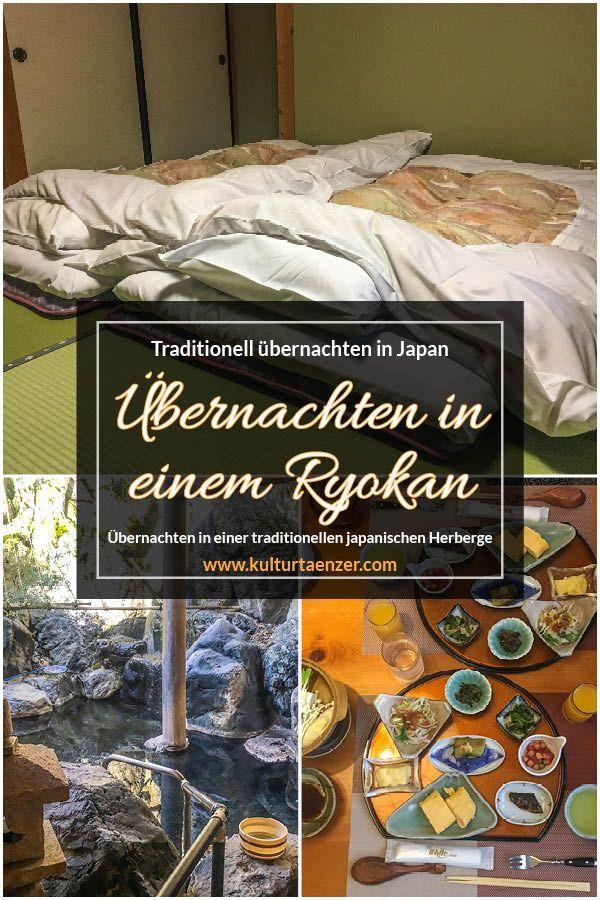 Traditionell übernachten in Japan – Übernachten im Ryokan
