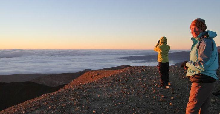 Sunrise Tongariro Crossing