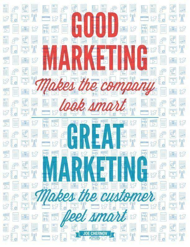 Good marketing vs Great marketing