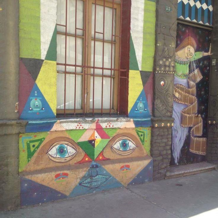 street art in Puente Alto, Chile