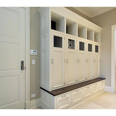 Mudroom Lockers Design, Pictures, Remodel, Decor and Ideas great for ...