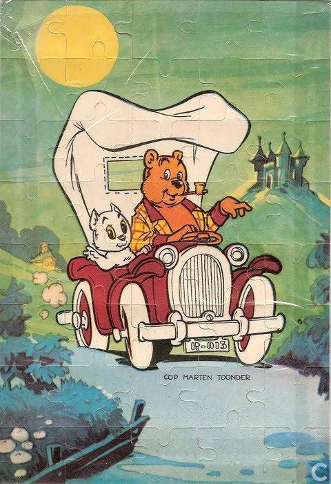 """Tom Poes by Marten Toonder (in Norway: """"Tom og Teddy"""")."""