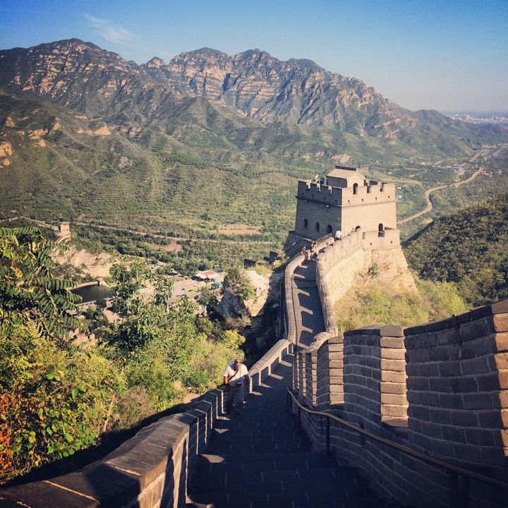 The Great Wall of China, Beijing. Here is our first stop! Take in the scenery kindergarteners! Can you believe how great this giant wall is?! see this site: http://www.travelchinaguide.com/china_great_wall/