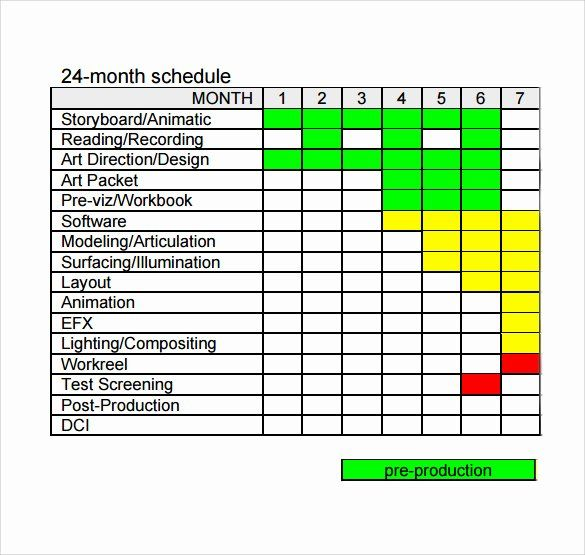 Film Production Schedule Template Inspirational 12 Production Schedule Templates Free Sample Exampl Schedule Template Schedule Templates Sign In Sheet Template