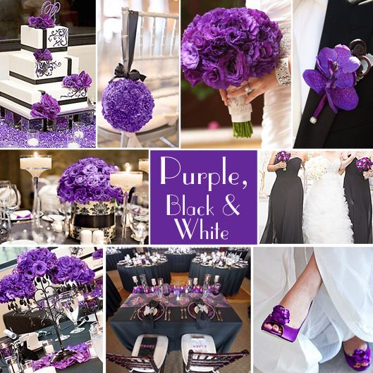 4 Of The Best White Winter Wedding Themes Wedding Ideas: Best 20+ Purple Black Wedding Ideas On Pinterest