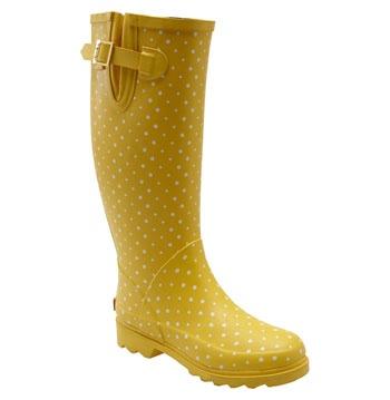 1000  ideas about Polka Dot Rain Boots on Pinterest   Rain boots