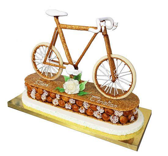 Pièce montée vélo de course