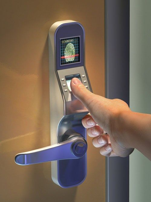 Thumbprint scanner door lock Benefits of Using Fingerprint Access Control Door Lock
