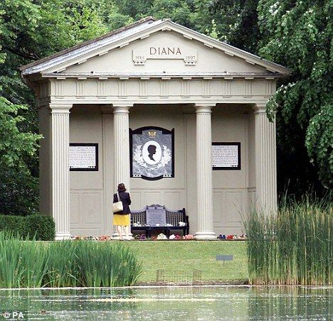 ENGLAND: final resting place of Princess Diana - Althorp Park in Northhamptonshire.