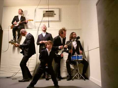 Sea of Love by The National -- new album finally out!  how cute is the little guy in front? :)